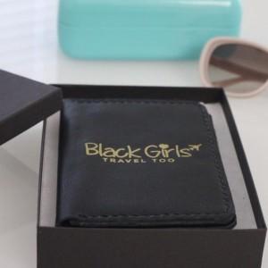 Black Girls Travel Too Passport Holder