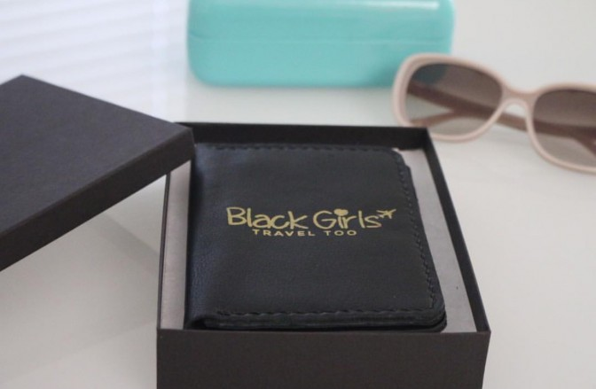 Black Girls Travel Too Passport Holder