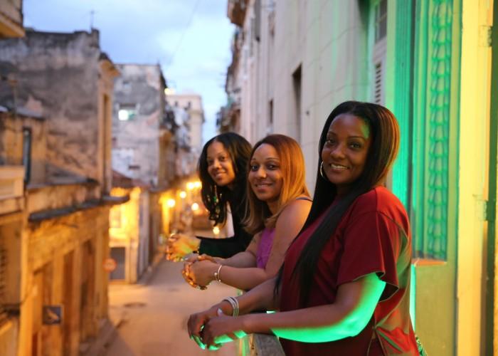 Young cuban teen girls apologise, but